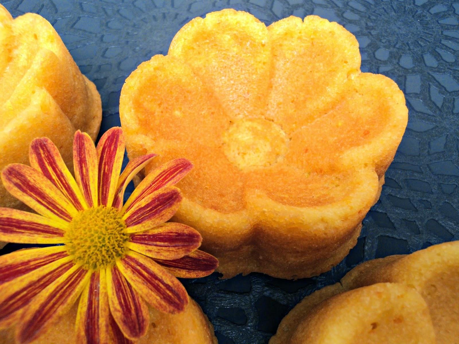 Margaritas, Bundt cake (Bizcocho) de naranja