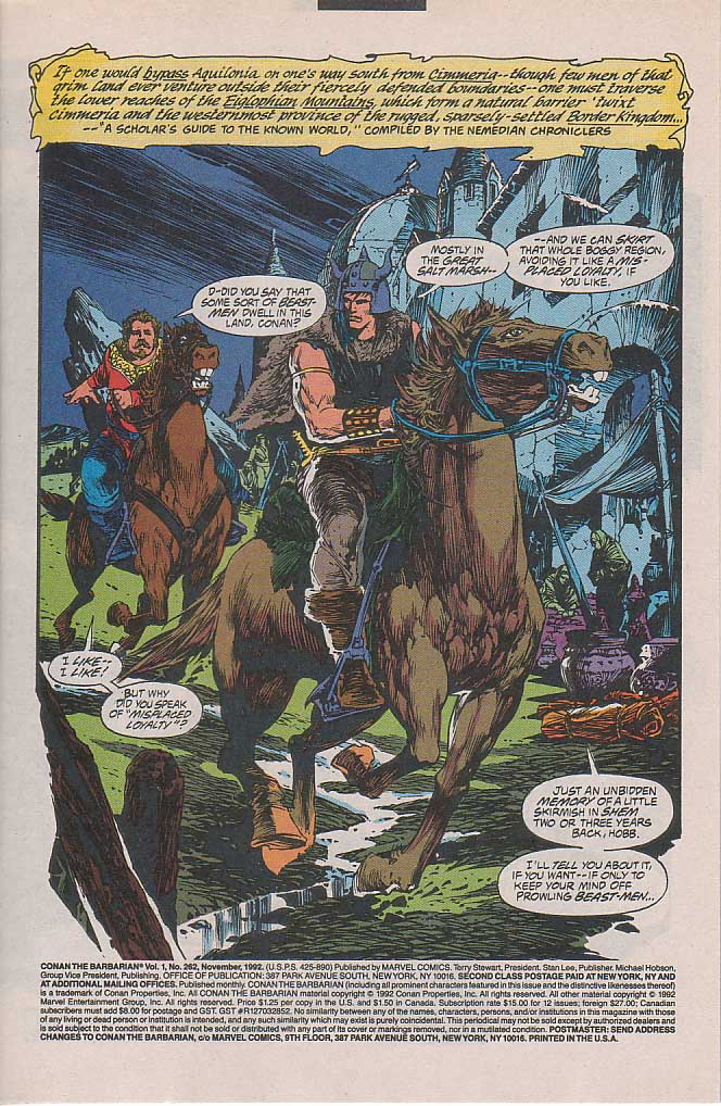 Conan the Barbarian (1970) Issue #262 #274 - English 2
