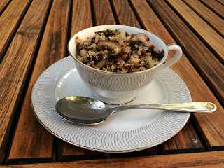 Recipe: Asparagus quinoa and 'pilaf'