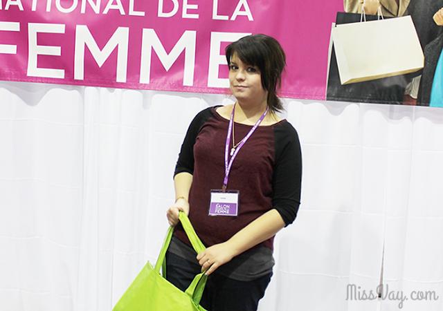 MissVay Salon National de la femme Québec 2015 Miss Vay
