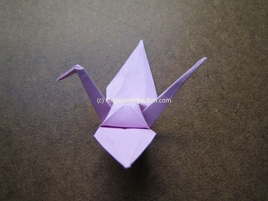 Origami origami crane for Origami crane step by step