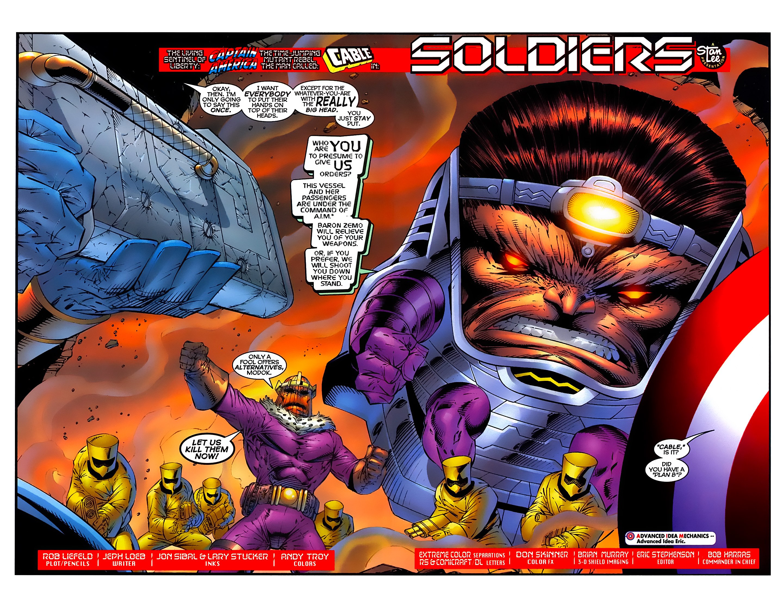 Captain America (1996) Issue #6 #6 - English 3