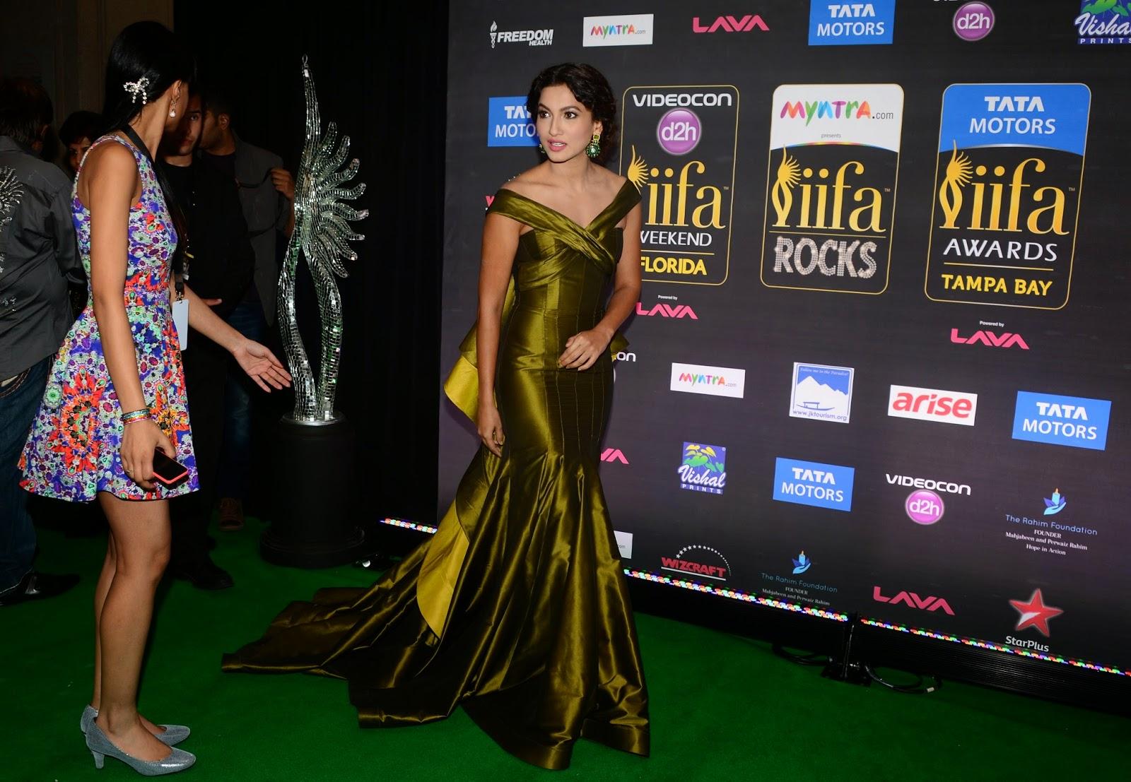 2014 IIFA Awards, Actress, Award Show, Bollywood, Bollywood actress, Entertainment, Gauhar Khan, Gauhar Khan Pictures, IIFA, IIFA Awards, IIFA Pictures, IIFA Rocks, International Indian Film Academy, Tampa,