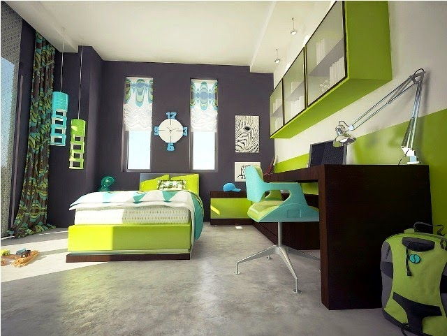 Wall Painting Ideas for Boys Bedroom