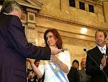 Asunción de Cristina Fernández de Kirchner