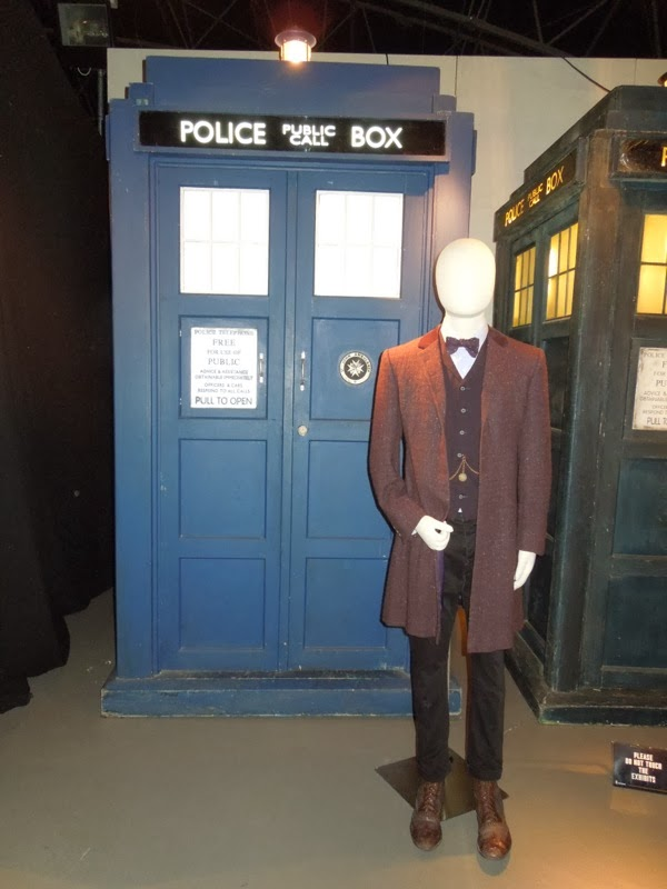 11th Doctor Who Day of the Doctor costume TARDIS