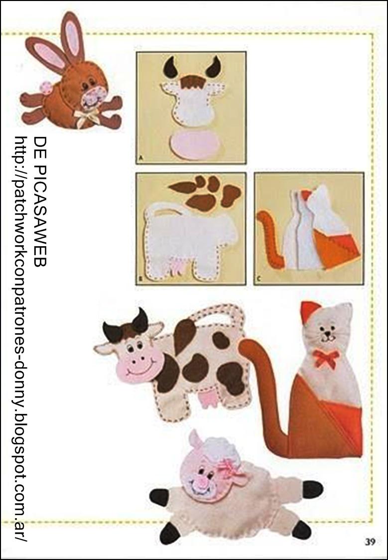 Patchwork solo patrones todo gratis alfombras - Patrones de perros de patchwork ...
