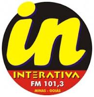 ouvir a Rádio Interativa FM 101,3 Ituiutaba MG