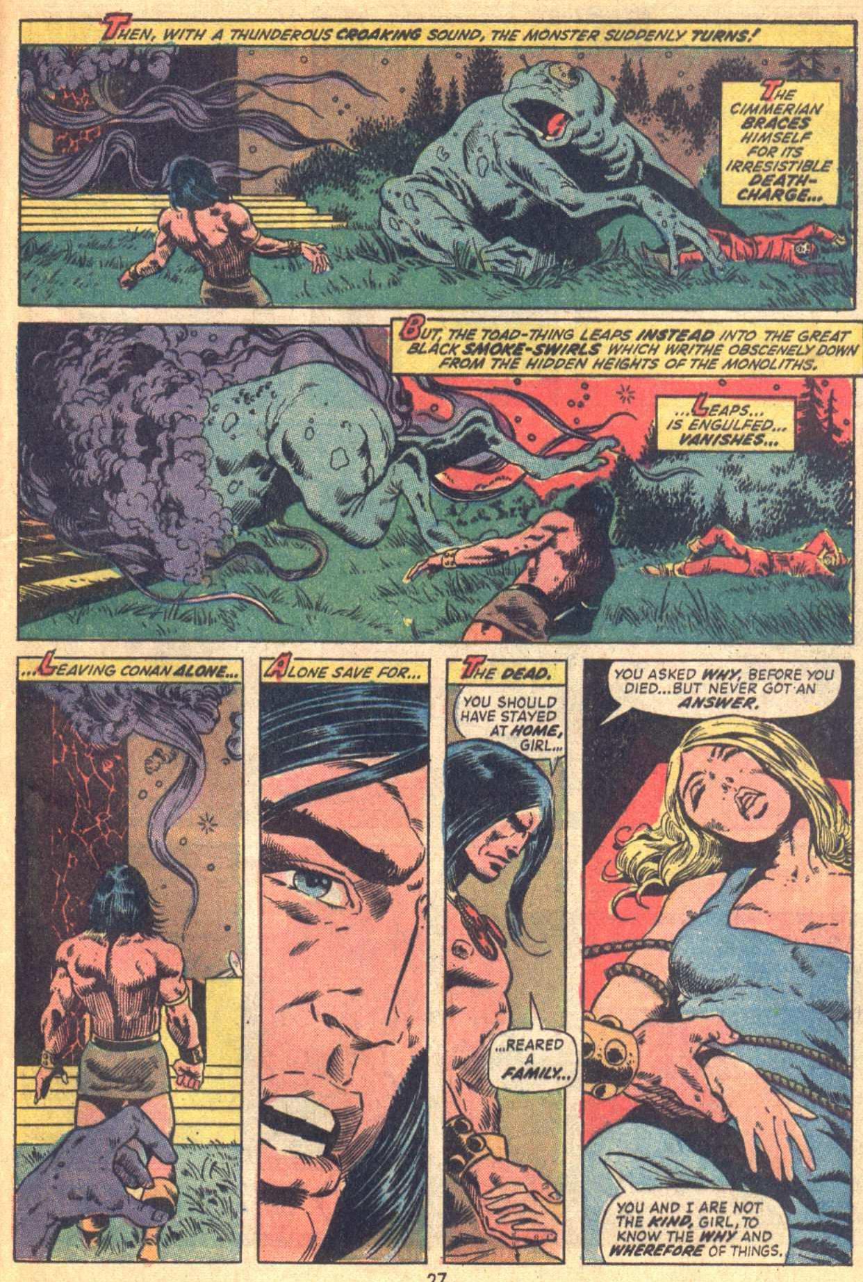 Conan the Barbarian (1970) Issue #21 #33 - English 20