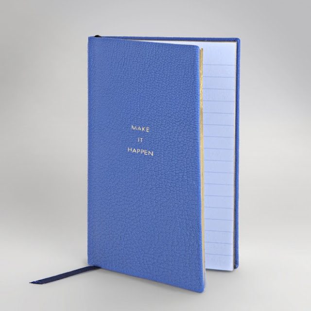 Make it happen Smythson notebook, stationery