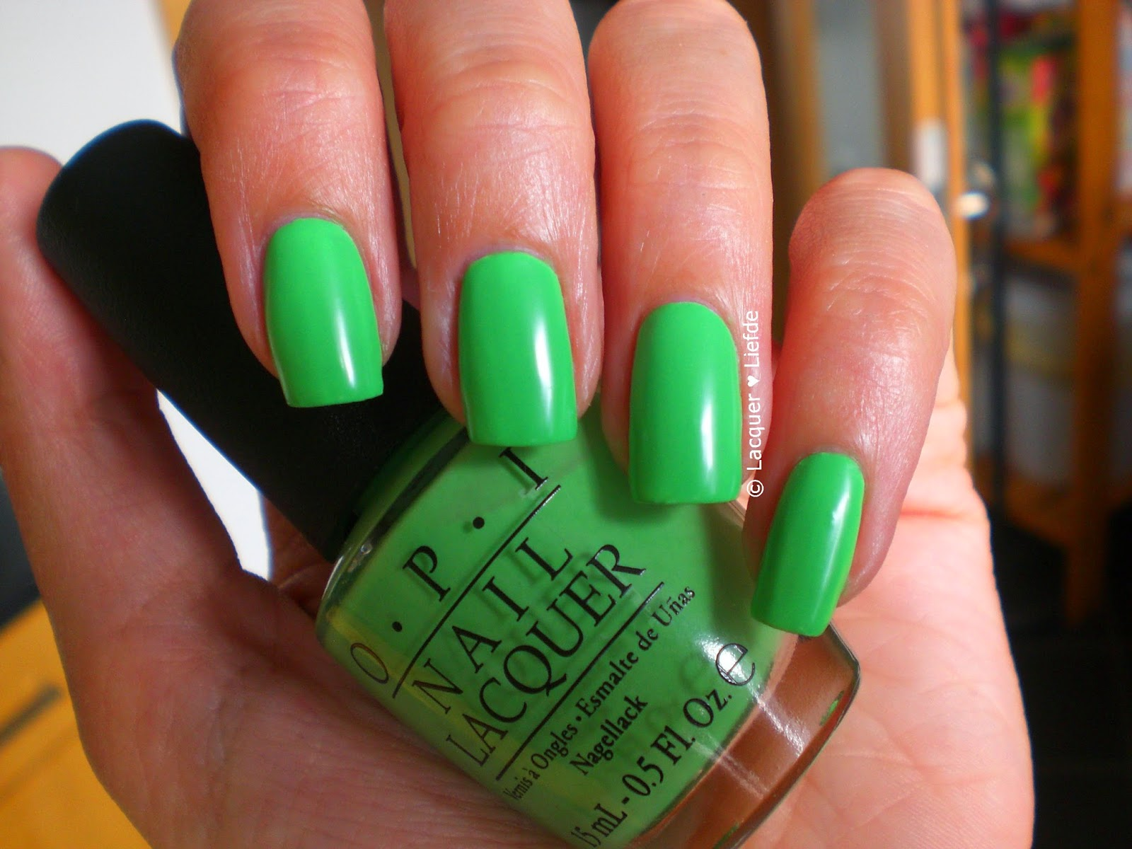 OPI Neons 2014 You are so outta lime!