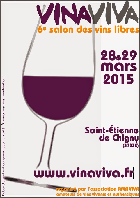 Jim 39 s loire dates for your diary 6e dition du salon - Salon des vins bordeaux ...