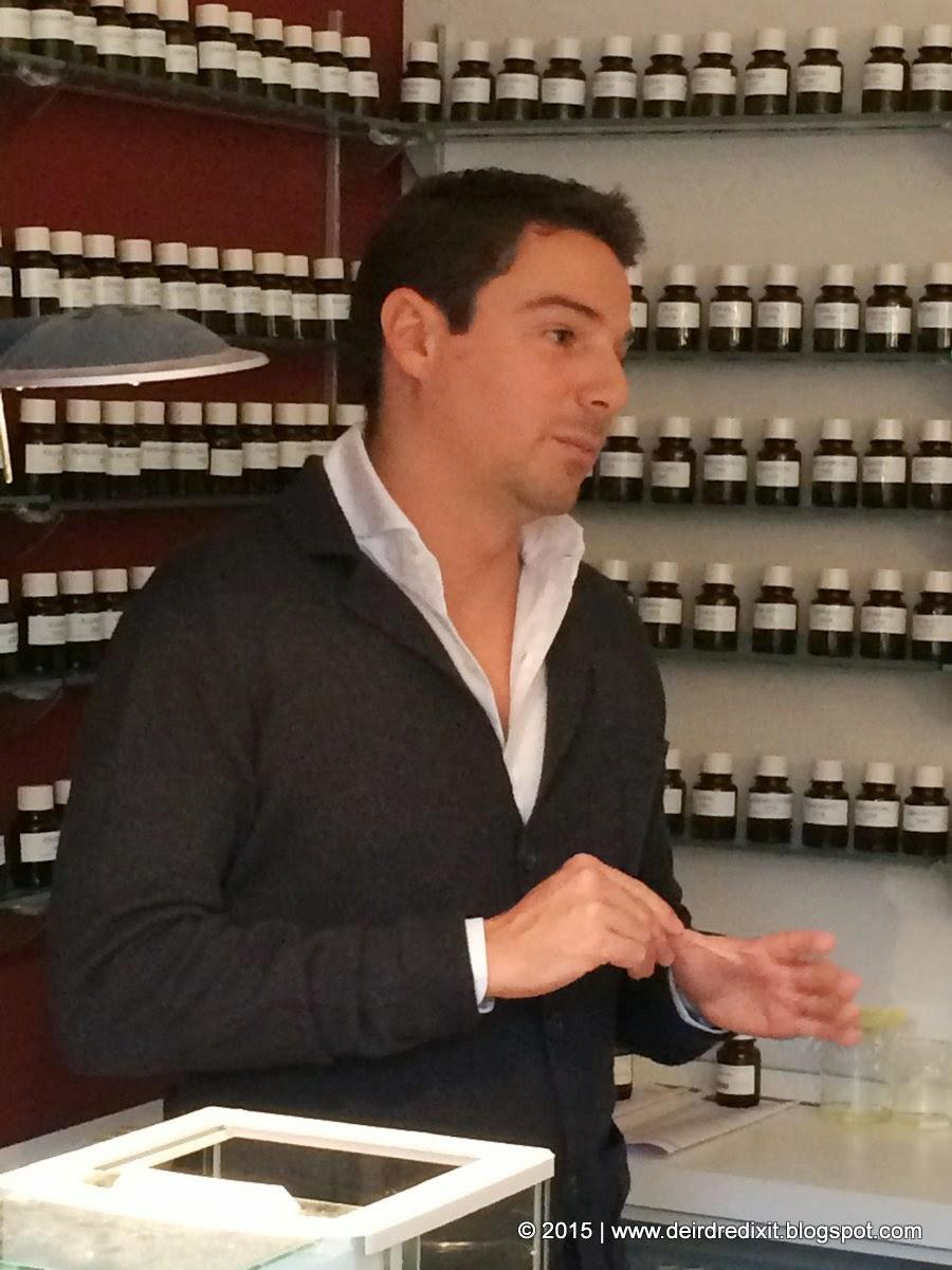 Luca Maffei, Naso di Atelier Fragranze Milano