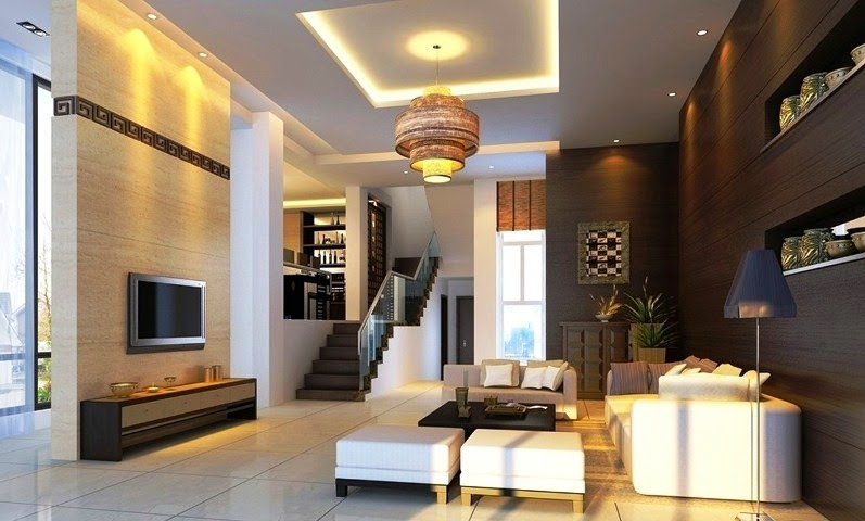 Interior exterior wall painting color combination for Color scheme for living room walls