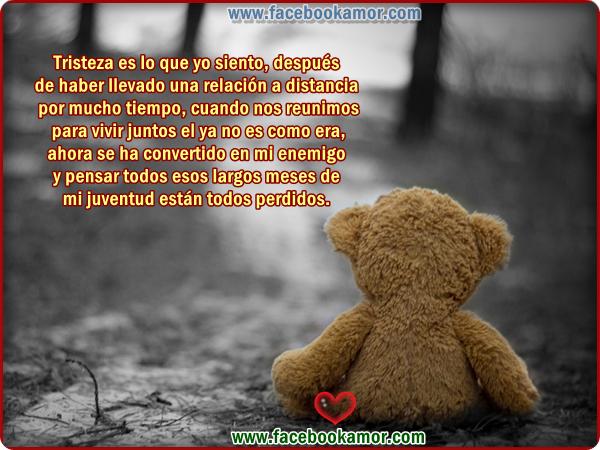 Imagenes Tristes De Desamor Para Facebook - Imágenes Tristes con Frases TE EXTRAÑO para Facebook