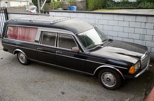 Daily Turismo 5k Hearse When I Laugh 1979 Mercedes Benz W123 Wagon