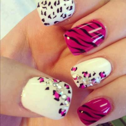 If You Want To Try A Dash Of Leopard Print Or Splash Out With Full On Mani This Summer Read Get Inspiration From Our Nail Art Gallery