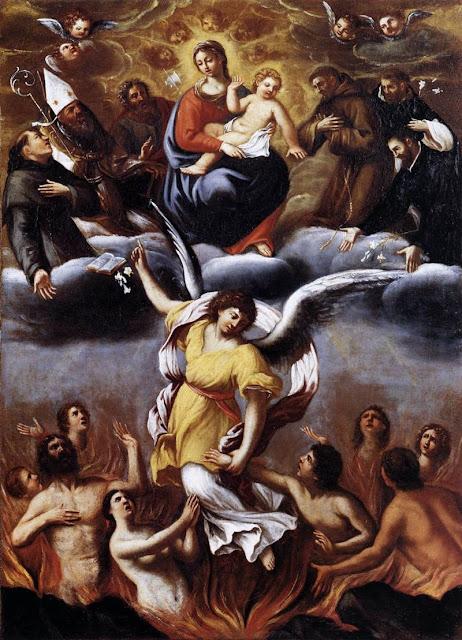 Ludovico Carracci - Purgatory