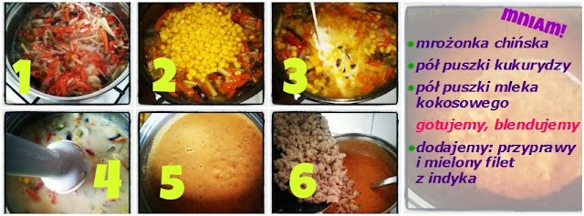 zupa krem z kukurydzą