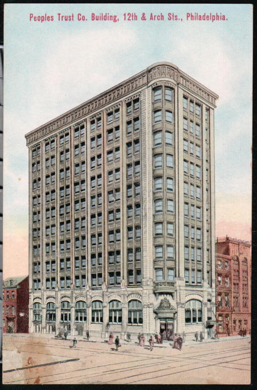 The Amazing History Of The People's Trust Co At 40th And Arch Once Adorable Arch Sewing Machine Company Philadelphia Pa