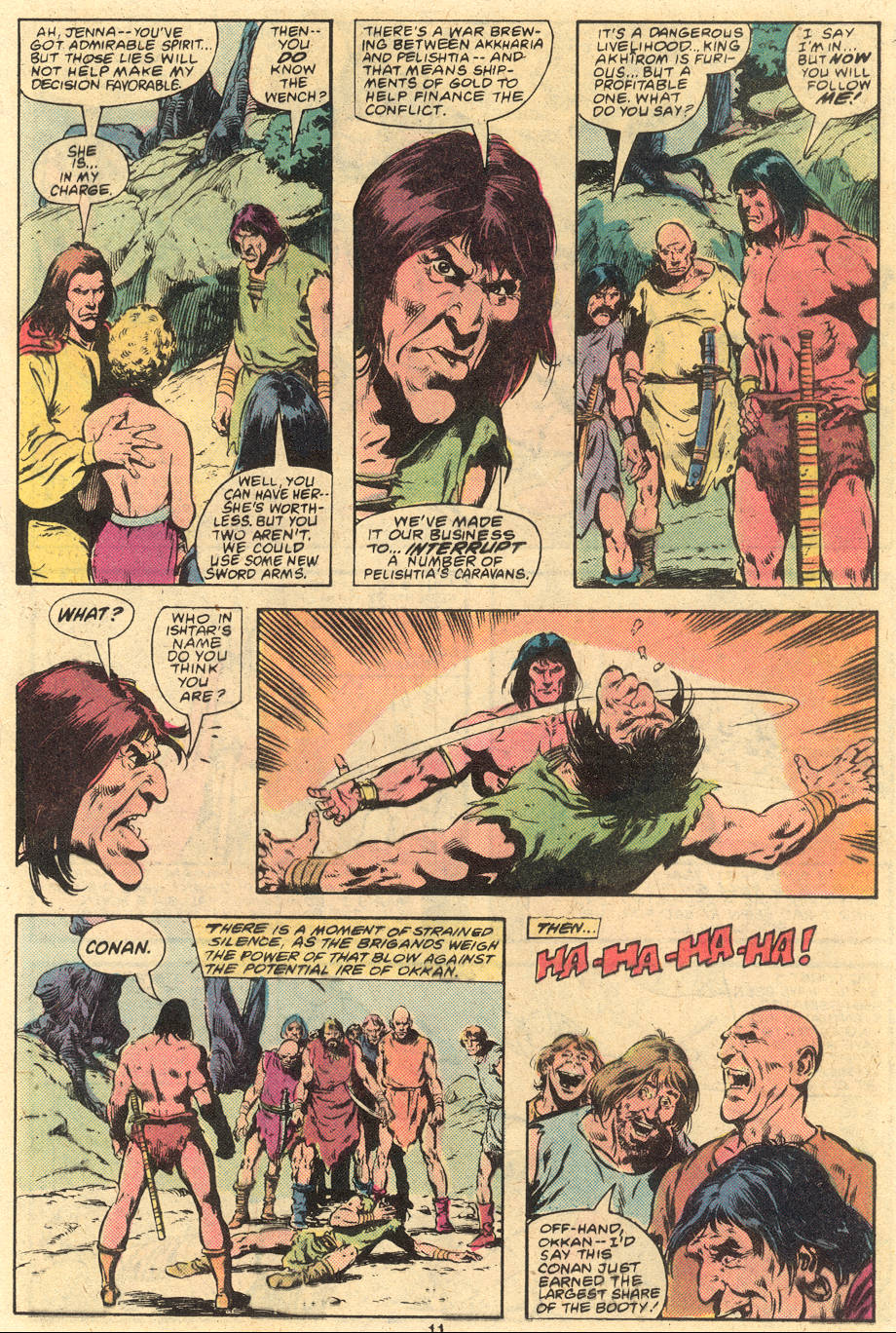 Conan the Barbarian (1970) Issue #120 #132 - English 11