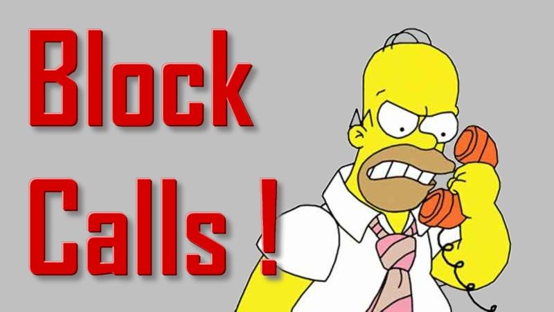 Block unwanted calls - app to block cell phone calls