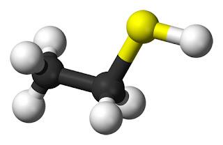 É um composto químico com odor desgradável, usado para detectar vazamentos de gases.