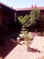 Quinta del Tiario. Detalle del patio