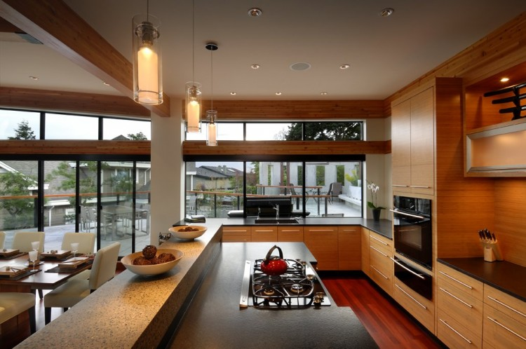 Modern cabinet amazing home armada house by kb design for Kitchen design victoria bc