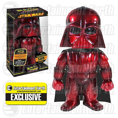 "Entertainment Earth Exclusive Star Wars ""Infrared"" Darth Vader Hikari Sofubi Vinyl Figure by Funko"