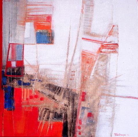 L'aile de Gabriel - 50 x 50 cm - 2006