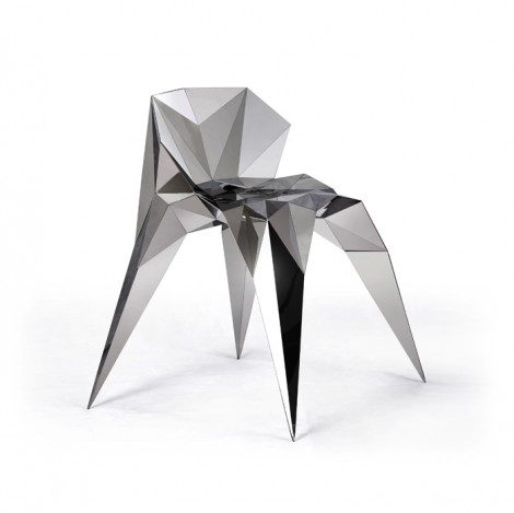 Amazing Fractal Chair Beauties From the Distant Future Design