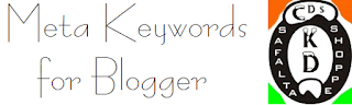 How to Add Multi Meta-Keyword to Blogger Posts
