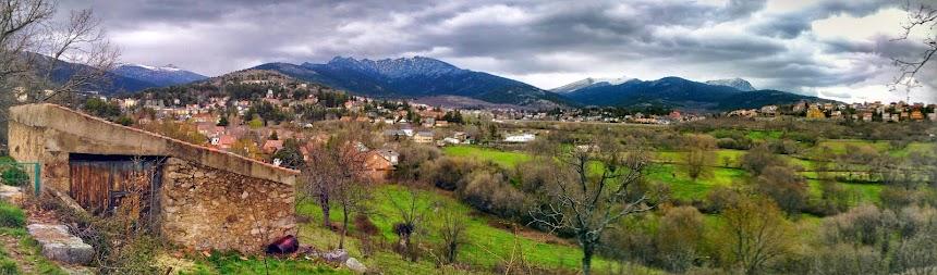 Panoramic from Cercedilla