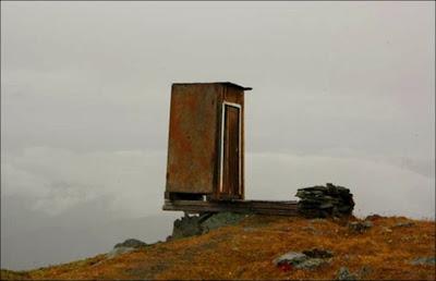 Tandas di Kara Tyurek Pergunungan Altai Paling Ekstrem di Dunia