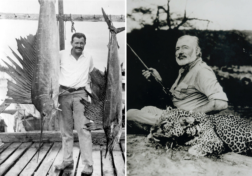 an introduction to the inspirations of ernest hemingway The old man and the sea study guide contains a biography of ernest hemingway, quiz questions, major themes, characters, and a full summary and analysis.