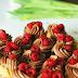 minipost: muffiny s čokoládovým krémom a malinami / muffins with chocolate cream and rapsberries