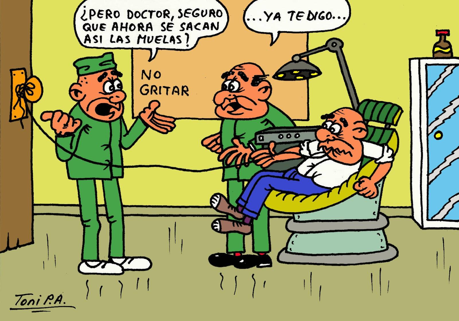 Chistes Toni Pa De Visita Al Dentista