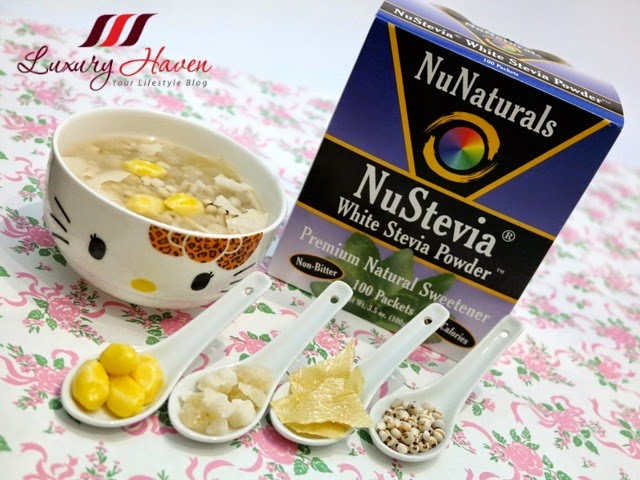 nustevia barley with ginkgo nuts recipe