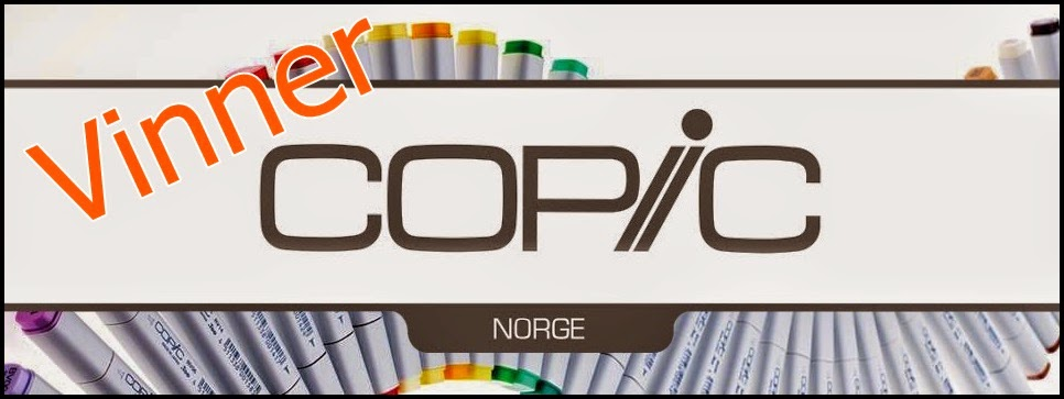 Winner at Copic Marker Norge