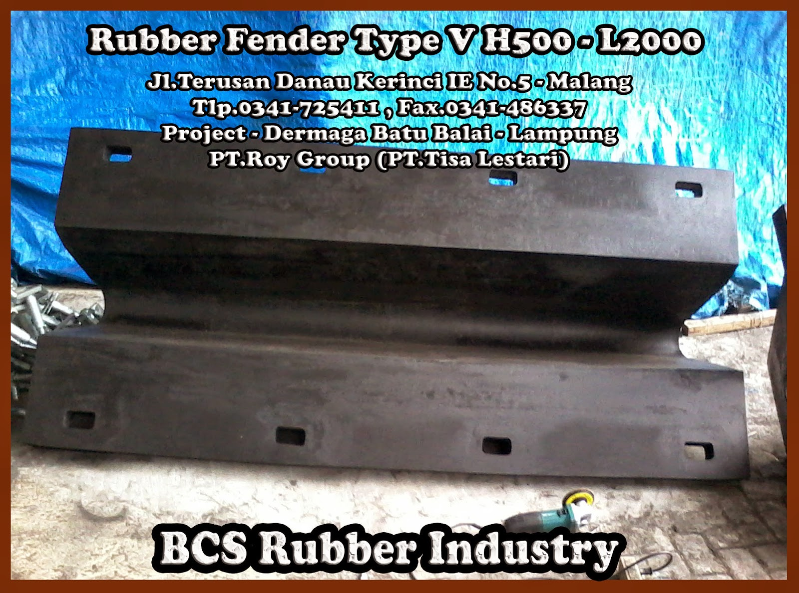 Gallery Product Rubber Fender M - BCS Rubber Industry