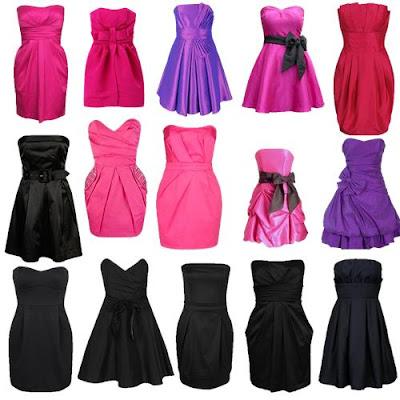 Modelos de Vestidos Básicos