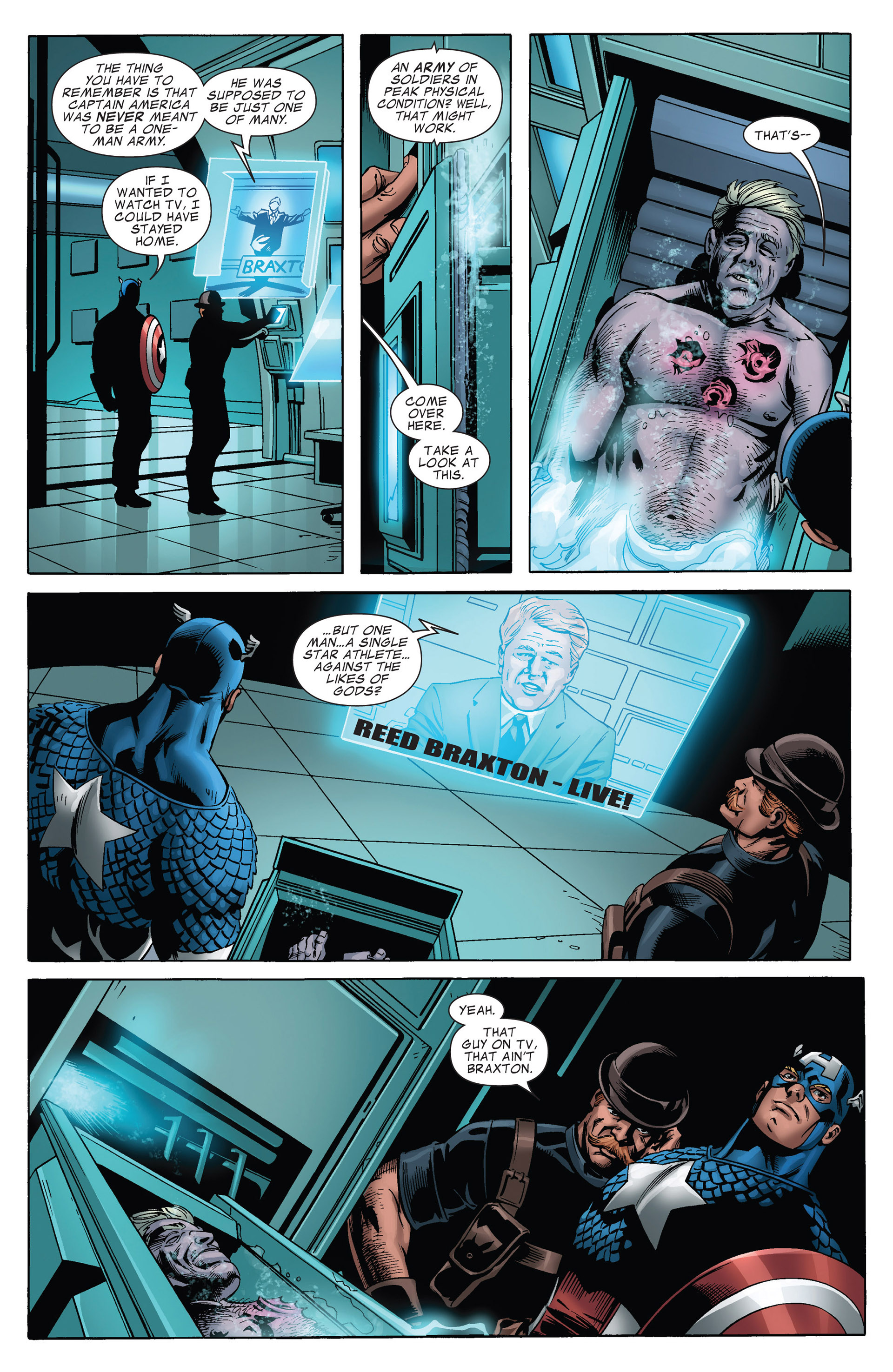 Captain America (2011) Issue #15 #15 - English 19