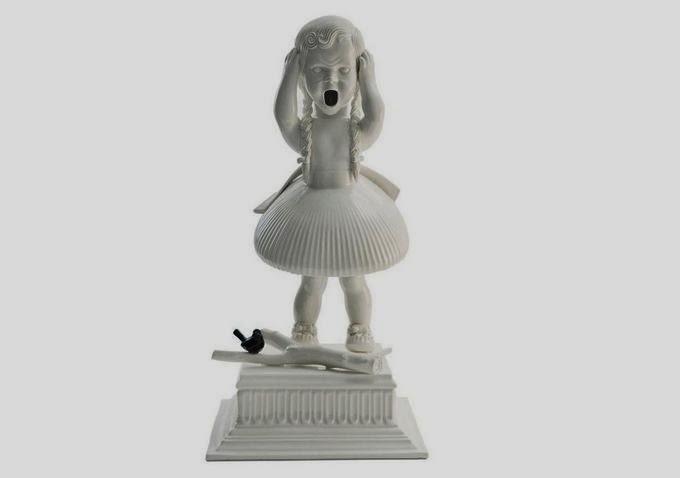 Cute Porcelain figures by Maria Rubinke
