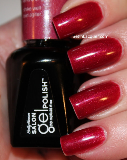 Sally Hansen Salon Gel polish - Wine Not