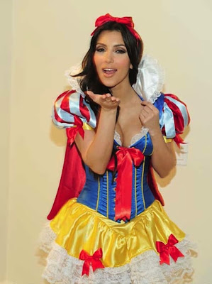 Snow White Kim Kardashian Costume