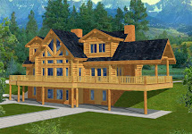 Minecraft Log Cabin House Plans