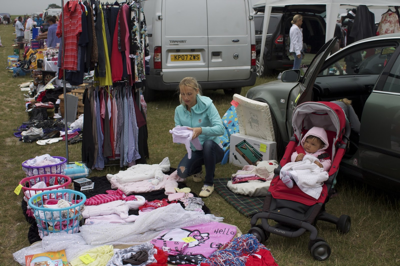 Dunton car boot sale