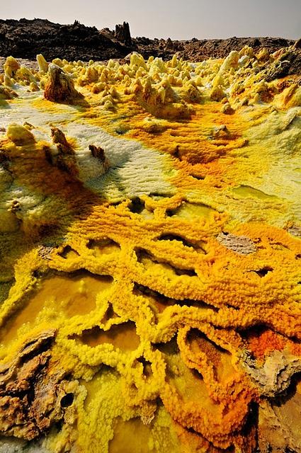 foto: Dallol volcano volvan etiopía