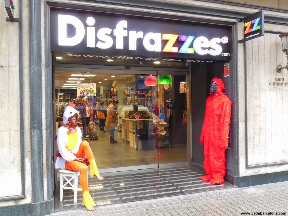 tienda de disfraces